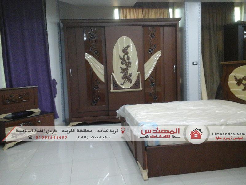 غرف نوم مودرن  جرار from www.elmohndes.com